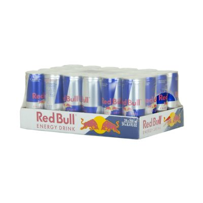 Red Bull energy drink.