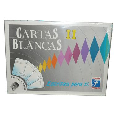 Juego cartas blancas II de...