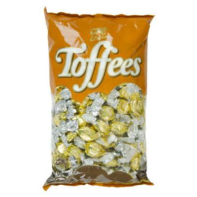 Caramelo toffe bombón oro 1 kg