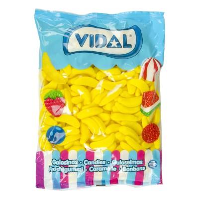 Gominolas bananas azucar.