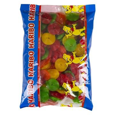 Gominolas discos fruit.