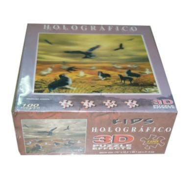 Puzzle holografico 100...