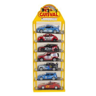 Expositor coche rallye de...