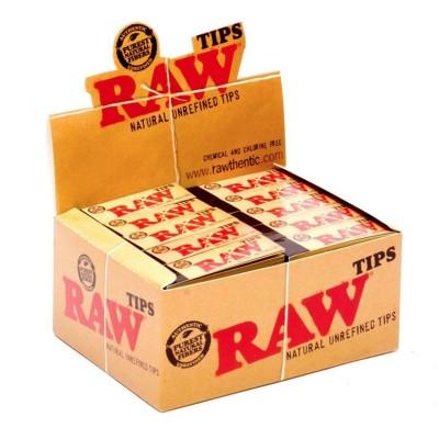 Papel fumar tips de Raw.