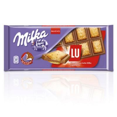 Chocolatina Milka lu sadwich.