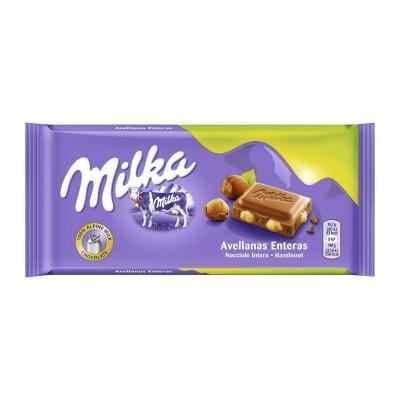 Chocolate Milka avellana...