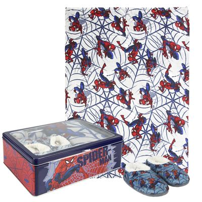 Set caja metalica Spiderman...