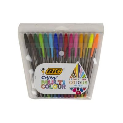 15 bolígrafos Multi Colour...