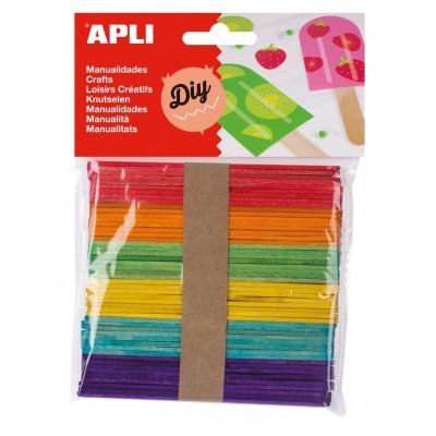 Palo Polo Colores 50 Uds. Apli