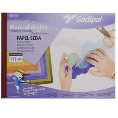 Block papel seda de Sadipal.