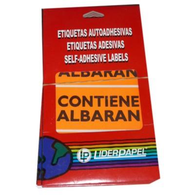 Etiquetas adhesivas...