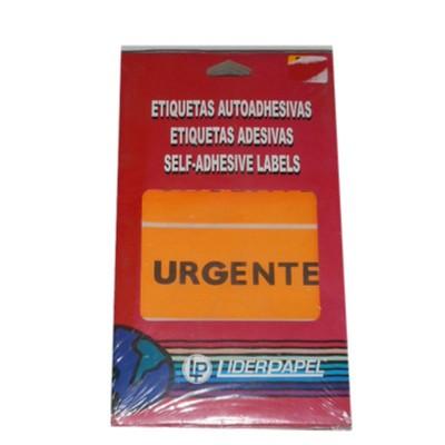 Etiquetas adhesivas urgente...