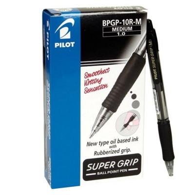 Boligrafo negro supergrip...