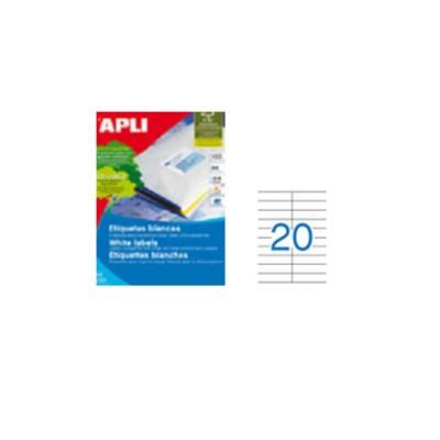 Etiquetas A4 105x29 de Apli.