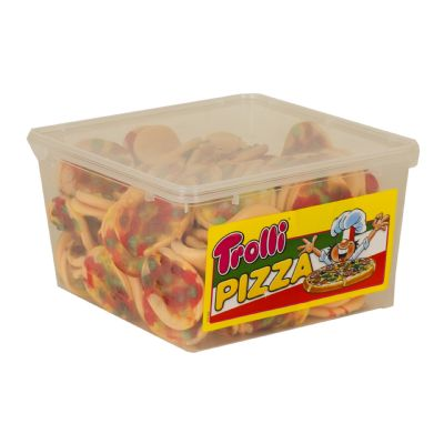 Gominolas pizzas.