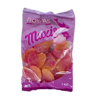 Gominolas maxi corazones...