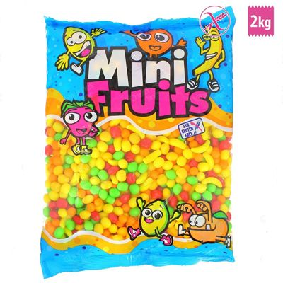 Mini fruits.