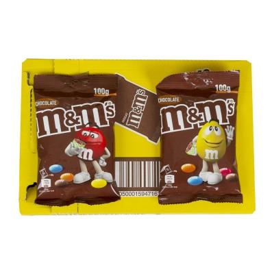 Chocolate M&m sabor chocolate.