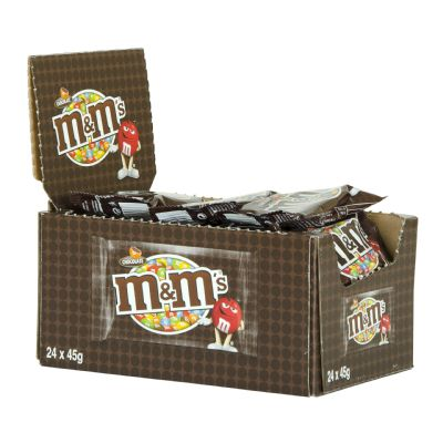 Chocolate m&m chocolate.