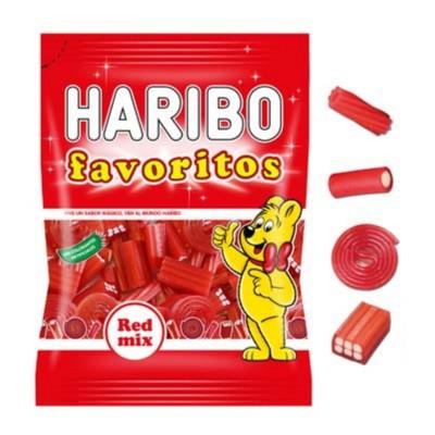 Gominolas favoritos red mix.
