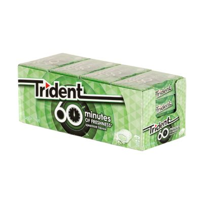 Chicle trident 60 minutos...