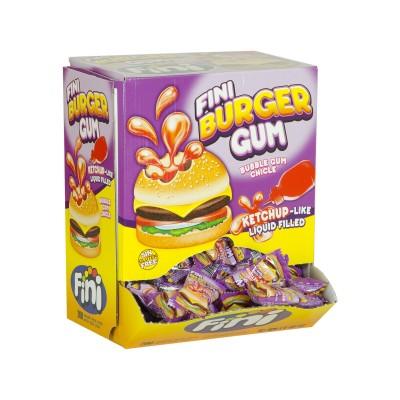 Chicle burger gum.