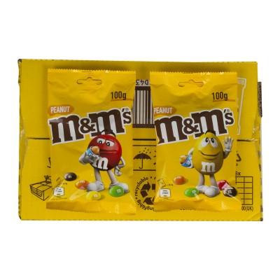 Chocolate M&m cacahuete.