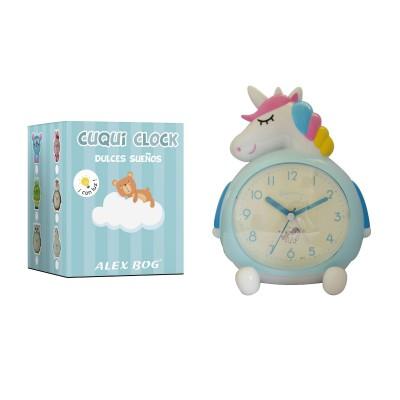 Reloj despertador Unicornio