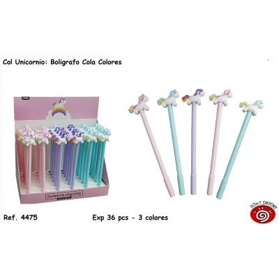 Bolígrafos Colores...