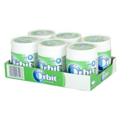 Chicle orbit bote hierbabuena.