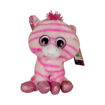 Peluche Pink Zebra Lekkerland