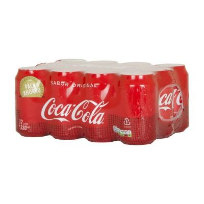 Coca cola lata.