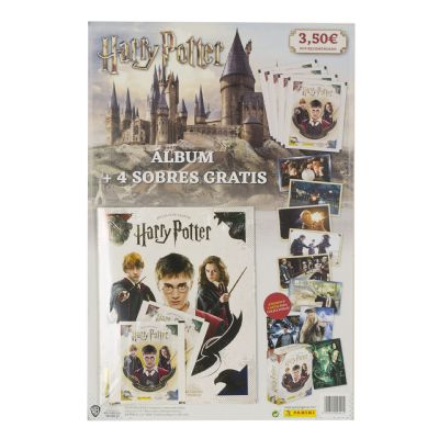 Harry Potter Álbum + 4 sobres