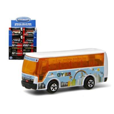 Autobus metal miniatura.