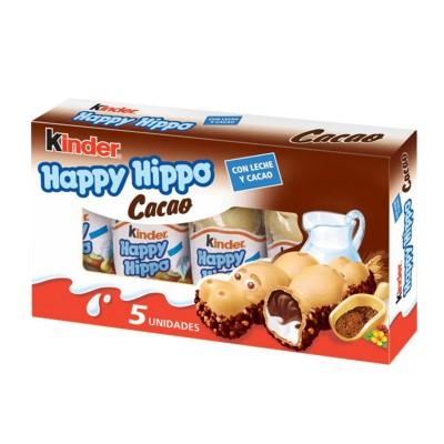 Kinder Happy Hippo Cacao 5...