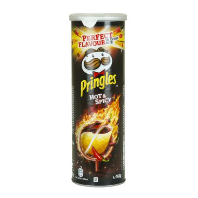 Pringles hot & spicy.