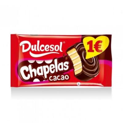 Chapelas chocolate.