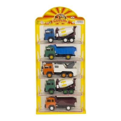 Expositor camiones obras de...
