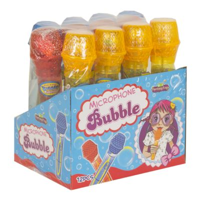 Microphone Bubble 12 Uds....